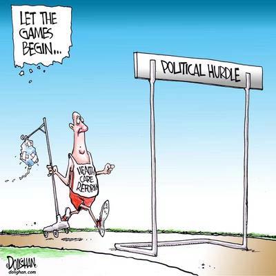 political hurdle health care reform
