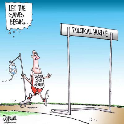 political hurdle health care reform