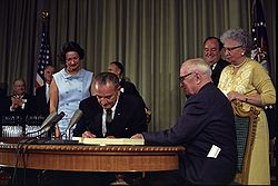 medicare johnson signs into law
